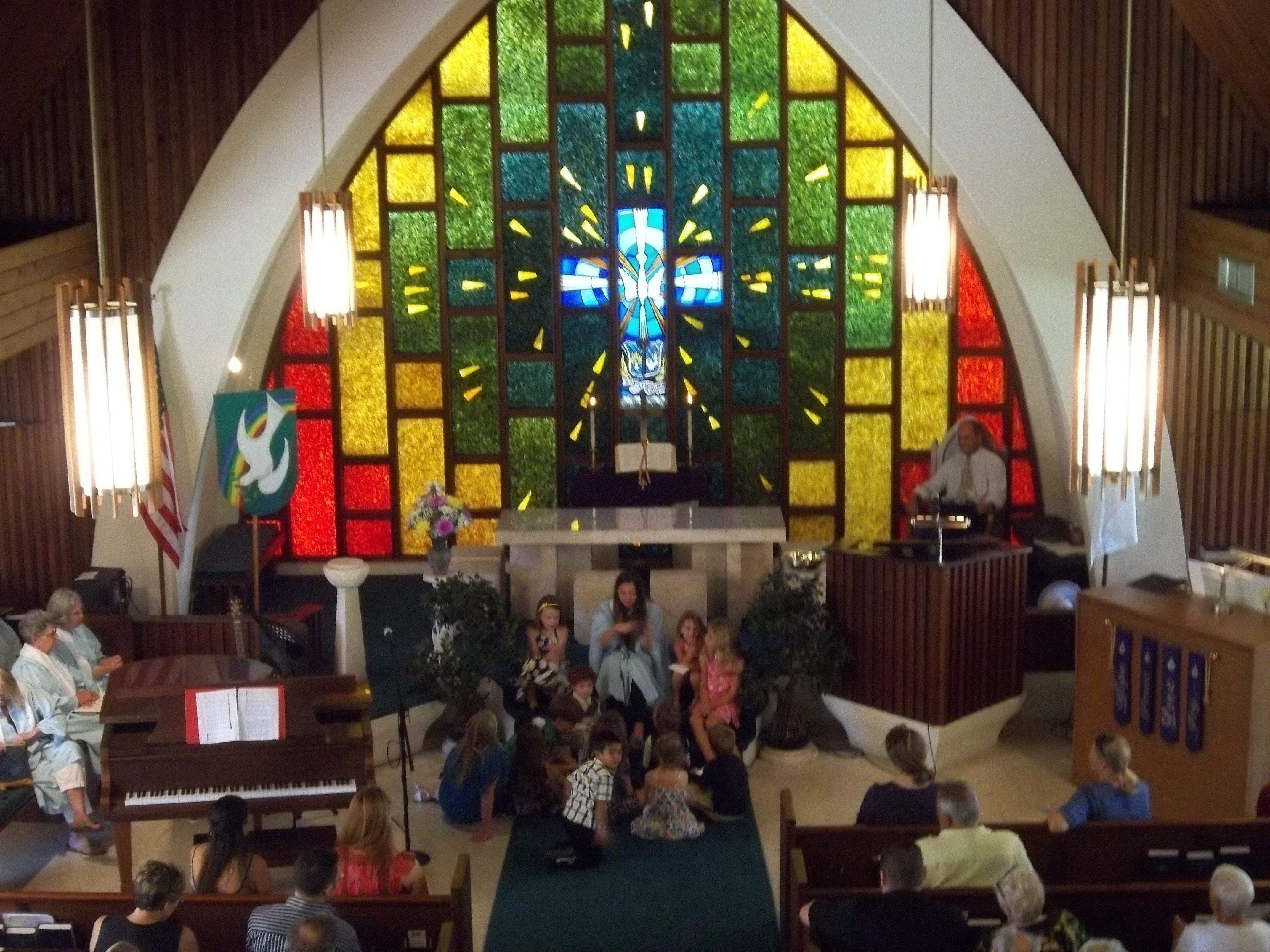 Cayleigh Lutz gives Childrens Sermon