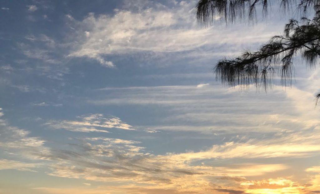 Glitter skies Key West